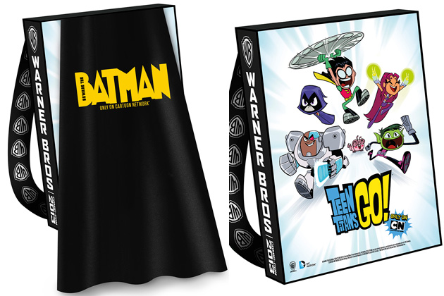 warner brothers bags with cape
